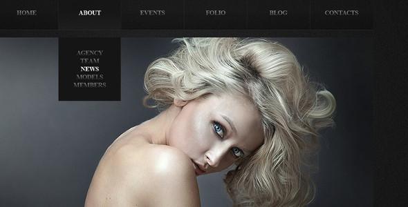 Model Agency WordPress Templates