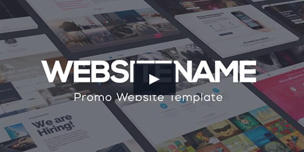 Modern Corporate Website Presentation Video