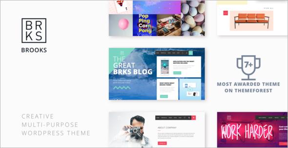 Modern Digital Marketing WordPress Template