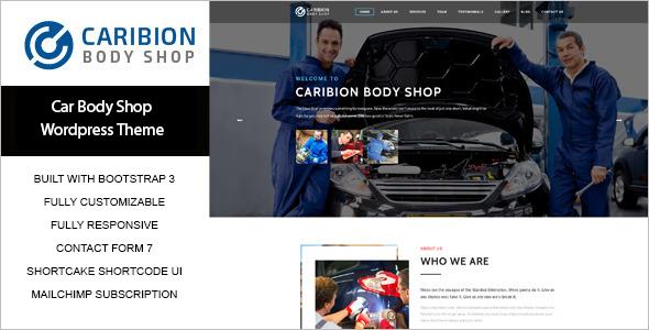 Modern Elegant Auto Car WordPress Theme