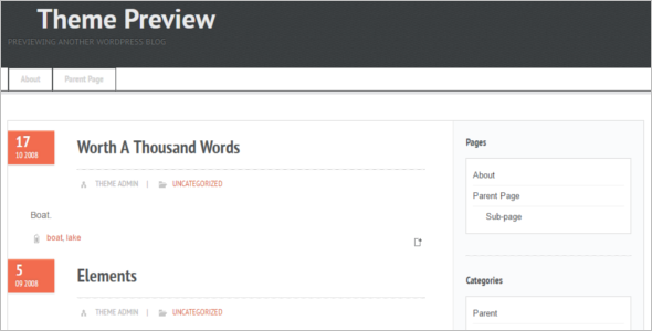 Modern Open Source WordPress Template
