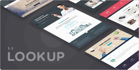 Modern Single Page WordPress Template