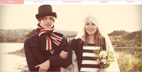 Modern Wedding Website Template