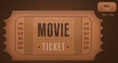 36+ Printable Movie Ticket Templates