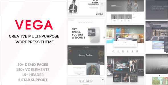 Multi-Purpose Vintage WordPress Template