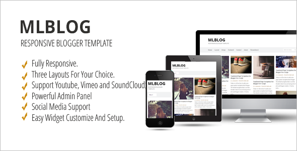 Multi-purpose Blogger Template