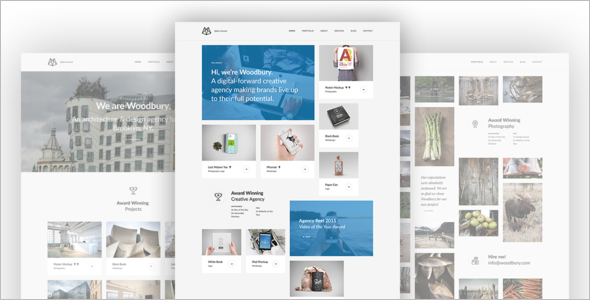 Multi-purpose Dark WordPress Theme