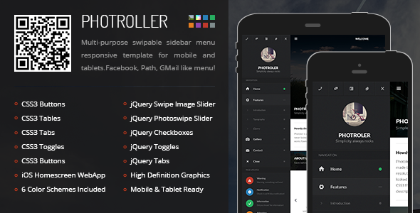 Multiple Gallery Responsive Mobile Compatibility Template