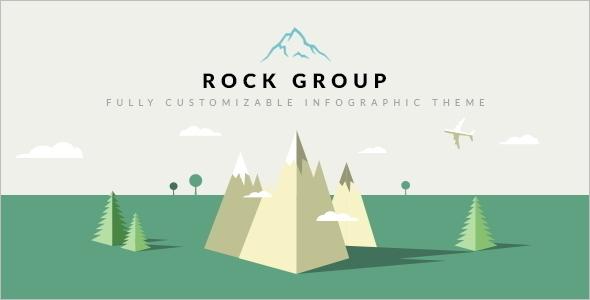 Multipurpose Infographic WordPress Template