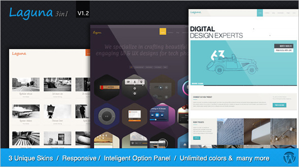 Multipurpose One Coloumn WordPress Template