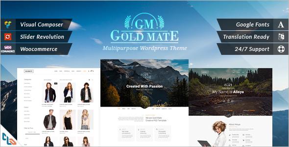 Multipurpose Shopping WordPress Theme