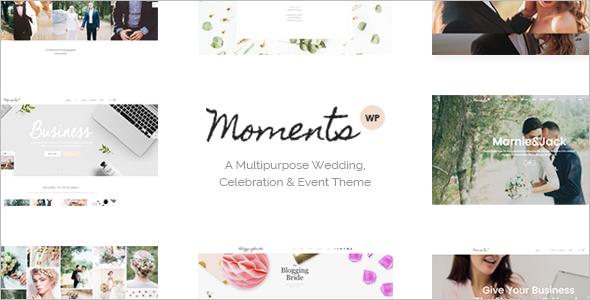 Multipurpose Wedding WordPress Template