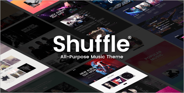 Music Purpose WordPress Template