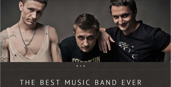 Music WordPress Nulled Template