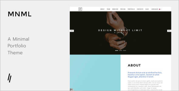 New Agency WordPress Template
