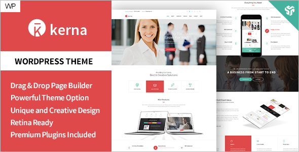 New Bootstrap WordPress Template