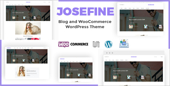 New E-commerce WordPress Template