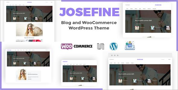 New E-commerce WordPress Template