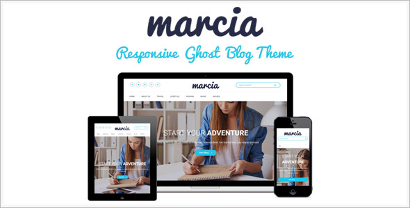 New Ghost Themes & Templates