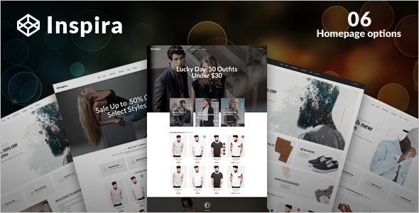 New Inspire WordPress Template