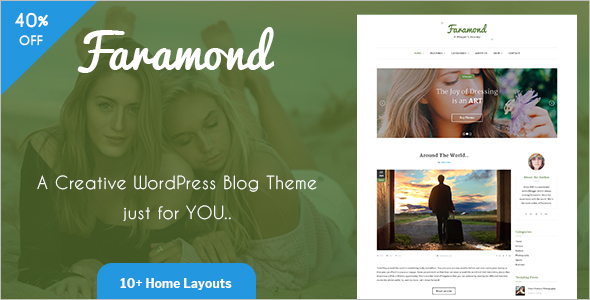 New Instagram WordPress Template