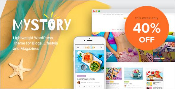 New Lifestyle WordPress Template