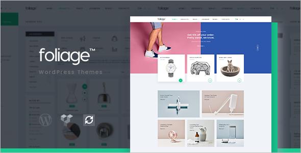 New Mega Store WordPress Template