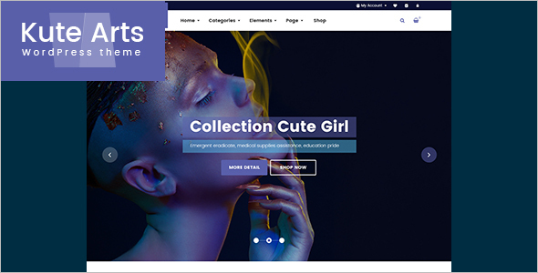 New MegaShop WordPress Template