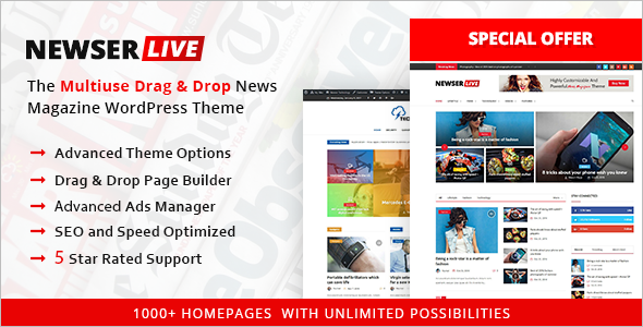 New Rating WordPress Template