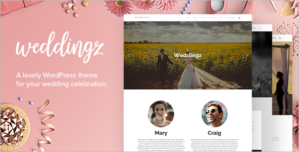 New Wedding WordPress Template