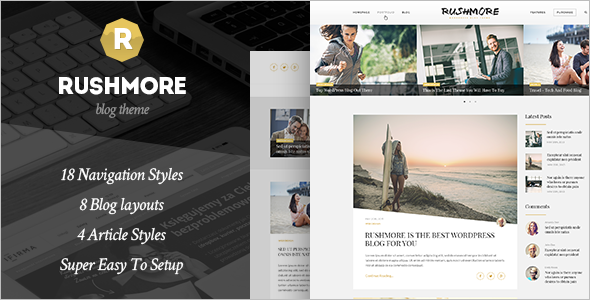 New WordPress Blogger Template