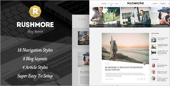 New WordPress Blogger Template