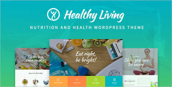 Nutrition Food Website Template