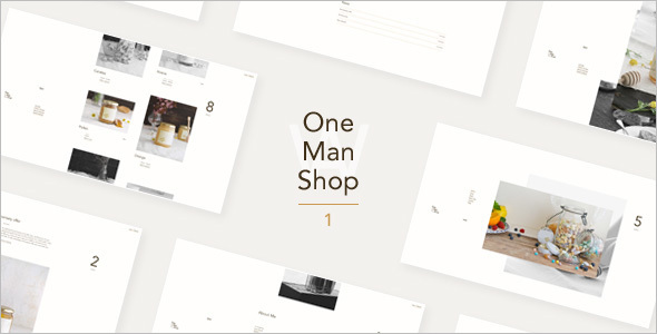 One Page WooCommerce WordPress Theme