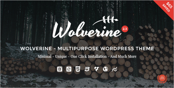 OnePage Business WordPress Template
