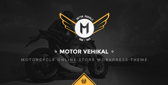 Online Motor Cycle WordPress Template