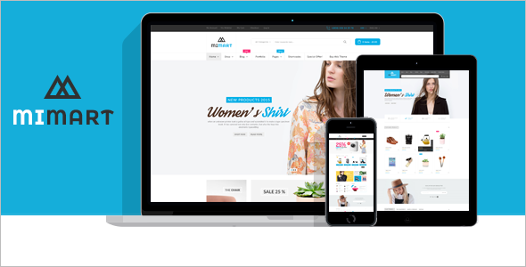 Online Store Woo Commerence WordPress Theme