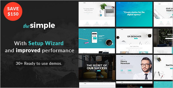 Page Builder WordPress Template