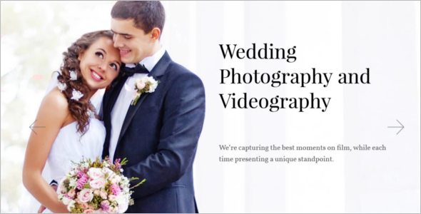Parallax Wedding WordPress Template