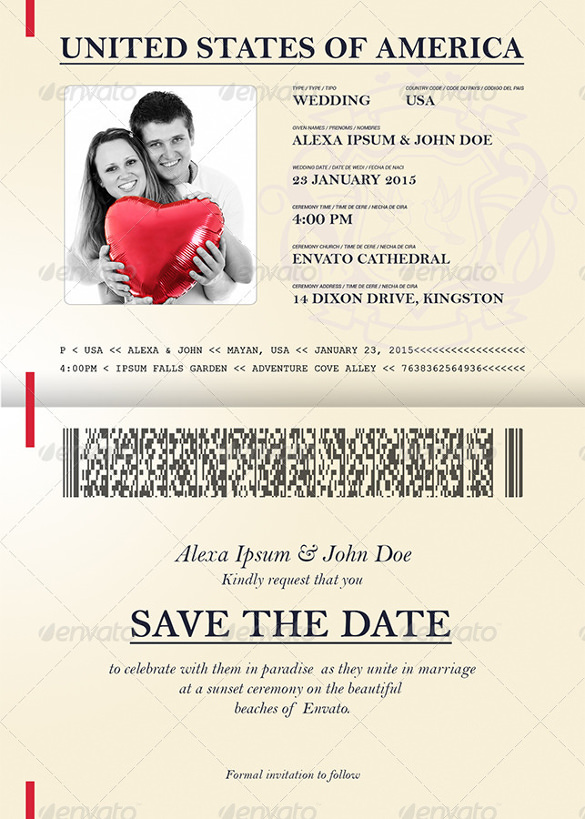 Passport-Style-Wedding-Set-Invitation-Template-PSD-Download