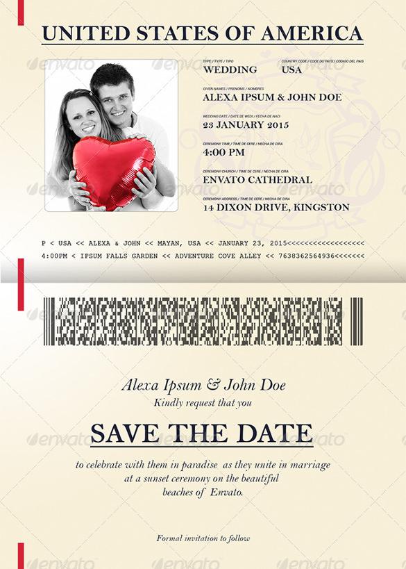 Passport-Style-Wedding-Set-Invitation-Template-PSD-Download