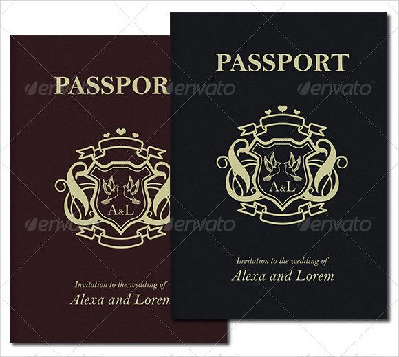 25 printable free passport templates psd illustrator designs