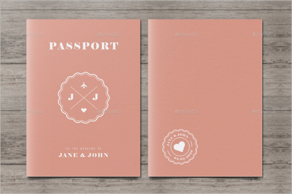 25 printable free passport templates psd illustrator designs for Make your own passport template