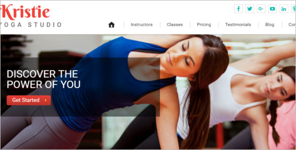 Perfect Yoga Website Template