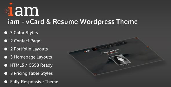 Personal Blog WordPress Template