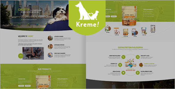 Pet Shop WooCommerce WordPress Template