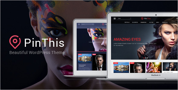 Pinboard Magzine Blog WordPress theme