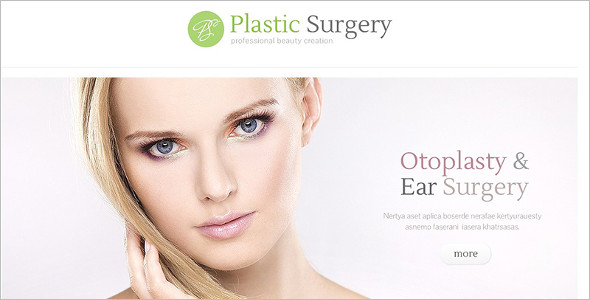Plastic Surgeon WordPress Theme