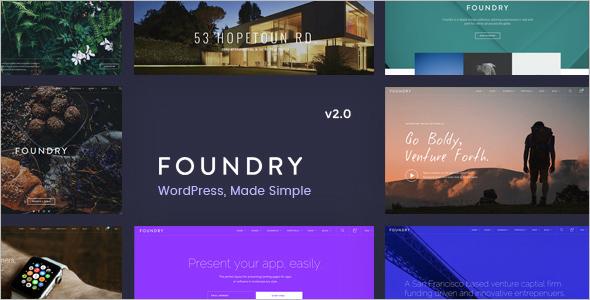 Portfolio Business WordPress Template