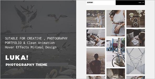 Portfolio New WordPress Template